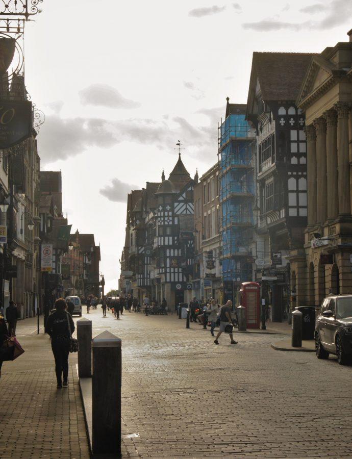 Podróż w czasie – czyli wycieczka do Chester
