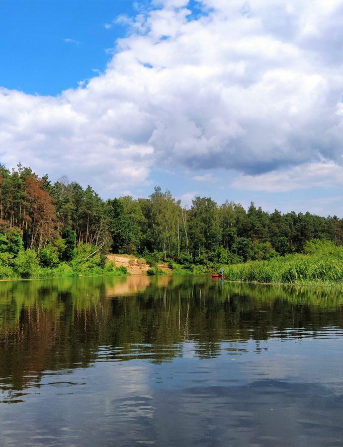 Spływ kajakowy Wkrą – Pomiechówek